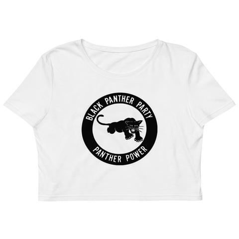 Black Panther Party Organic Crop Top