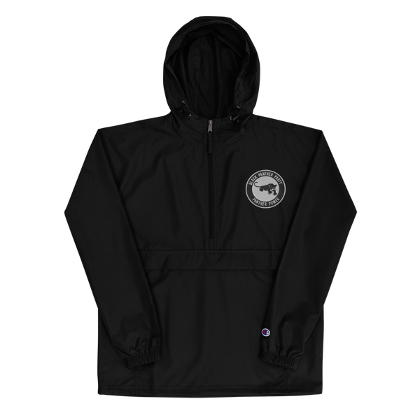 Black Panther Party Embroidered Champion Pullover Jacket