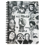 All Power To The People Spiral Notebook