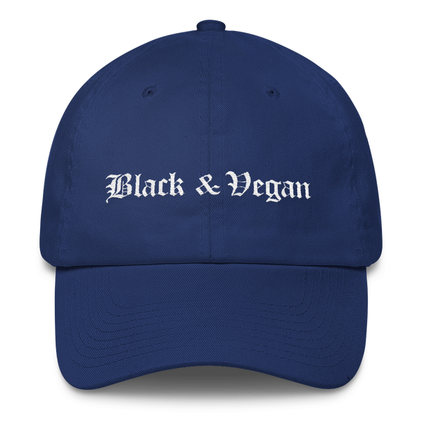 Black & Vegan Dad Hat