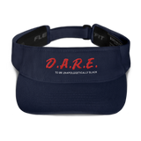 Dare To Be Unapologetically Black Visor Hat