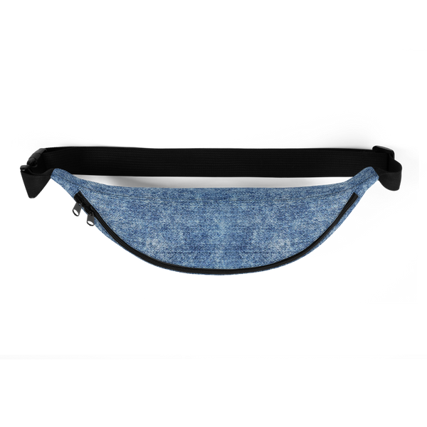 Black Lives Matter Denim Print Fanny Pack