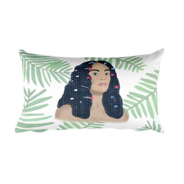 Don't Touch My Hair Solange Double-Sided Pillow