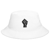 Black Power Fist Bucket Hat