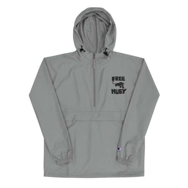 Free Huey Embroidered Champion Pullover Jacket