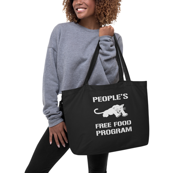 Black Panther Free Food Program Extra Large Eco Tote