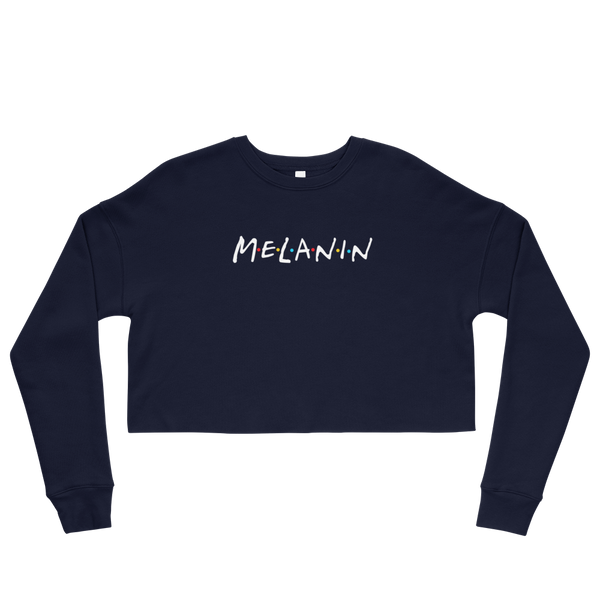 Friends Melanin Cropped Sweatshirt