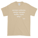 Across Cultures Darker People Suffer Most Why? T-Shirt