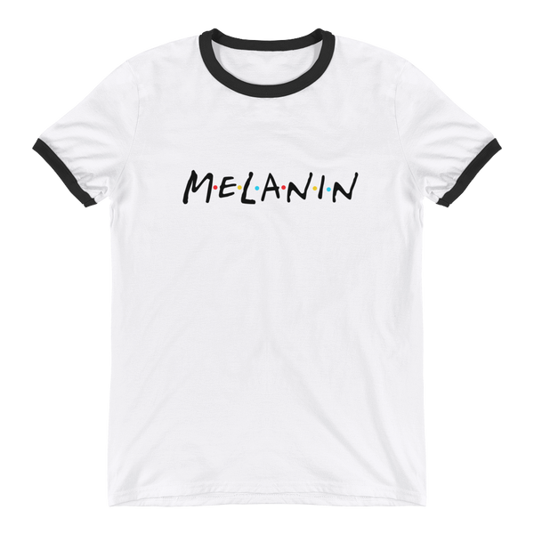 Friends Melanin Girl Gang Ringer T-Shirt