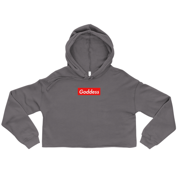 Goddess Supreme Cropped Hoodie