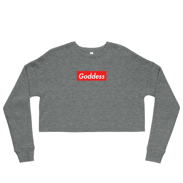 Goddess Supreme Cropped Sweatshirt