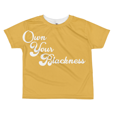 Own Your Blackness Youth T-Shirt