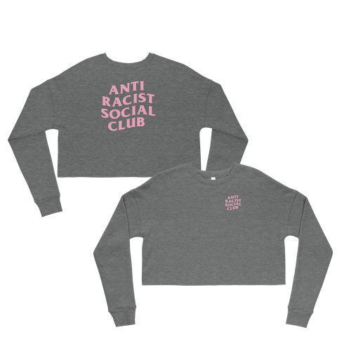 Anti Racist Social Club Cropped Sweatshirt