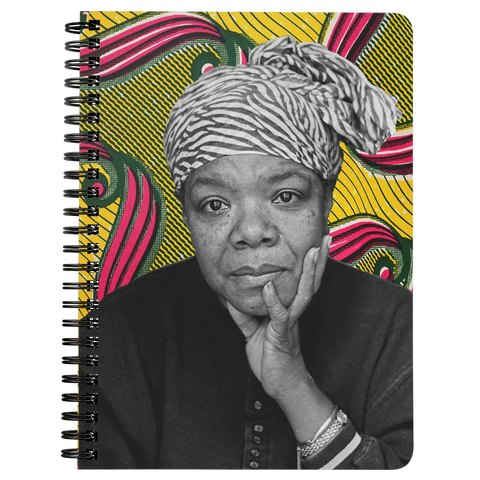 Maya Angelou Spiral Notebook