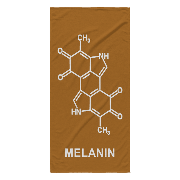 Melanin Chemical Beach Towel