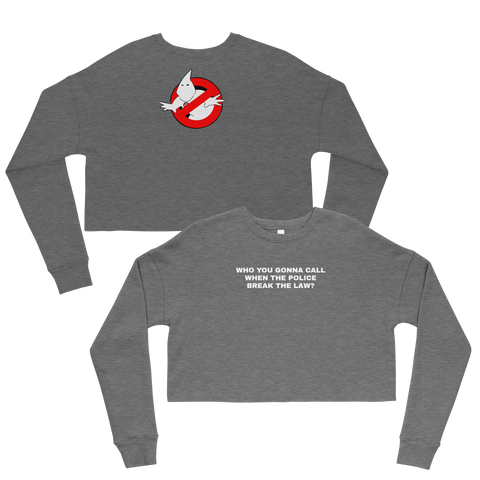KKK Ghostbusters Cropped Sweatshirt