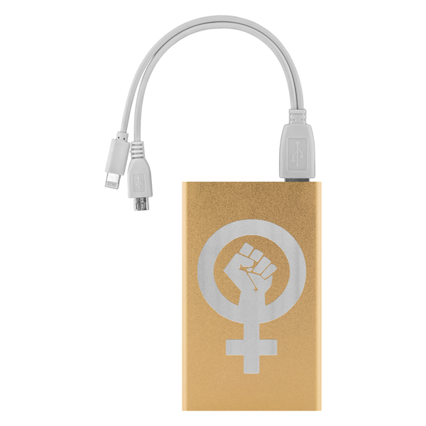 Woman Power Portable Charger