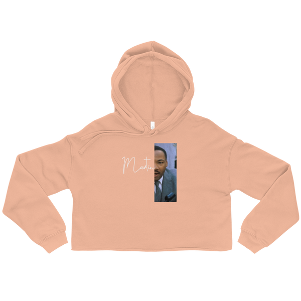 Martin Luther King Jr. Cropped Hoodie