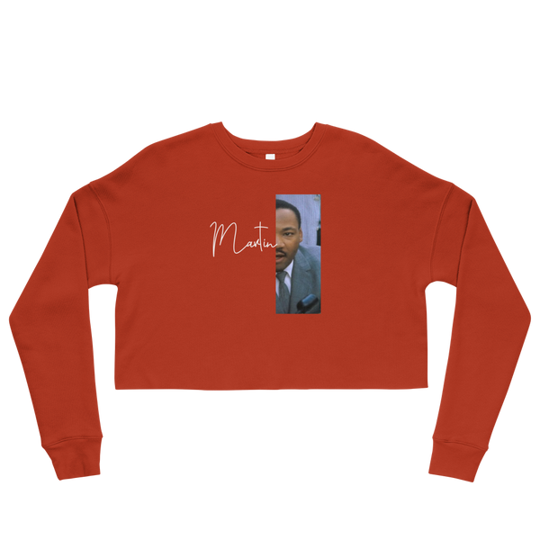 Martin Luther King Jr. Cropped Sweatshirt