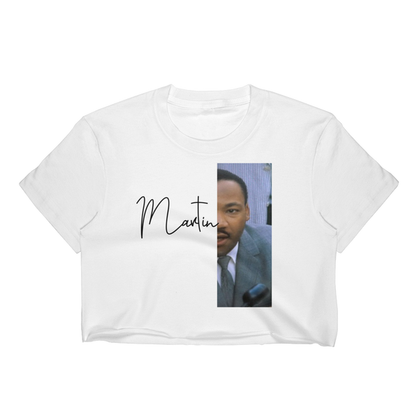 Martin Luther King Jr. Crop Top