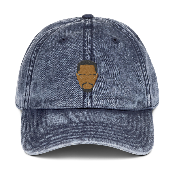 Malcolm X Washed Vintage Dad Hat