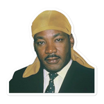 Durag MLK Sticker