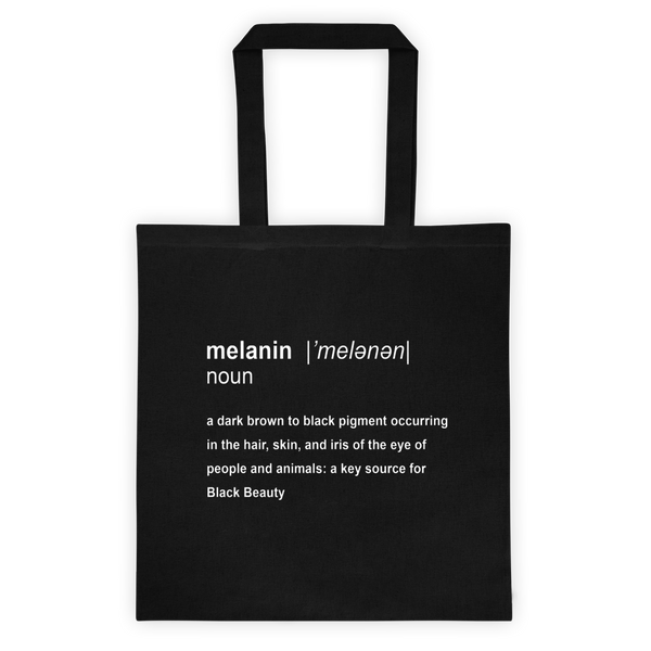 Melanin Definition Reusable Tote