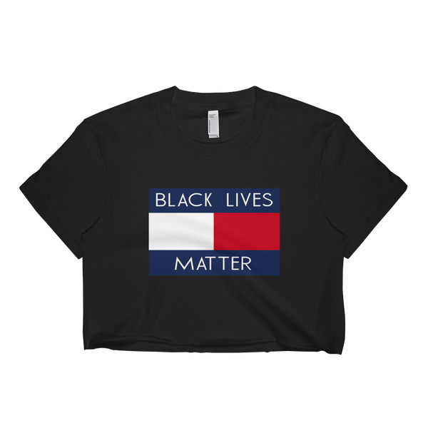 Tommy Black Lives Matter Crop Top