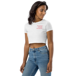 Black Women Deserve Better Organic Crop Top