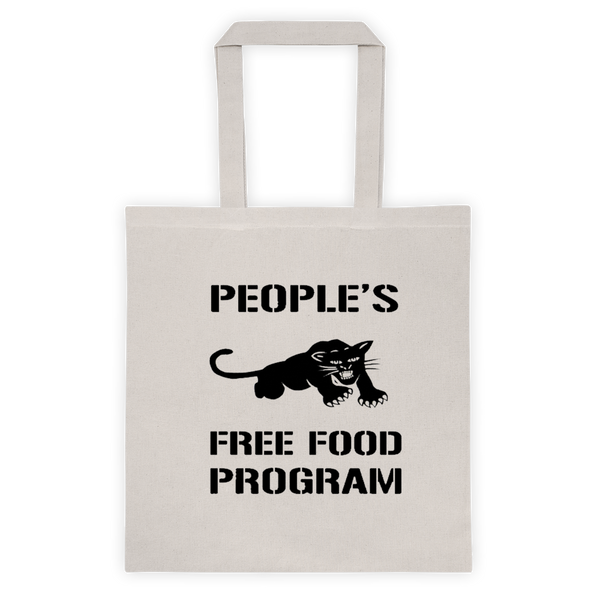 Black Panther Free Food Program Reusable Tote