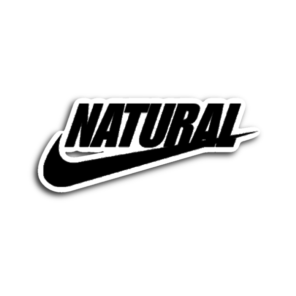 Just Natural Sticker