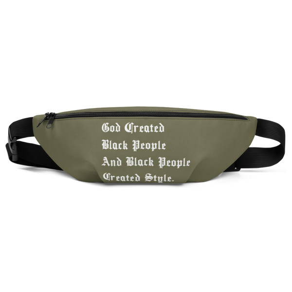 Black People Created Style Fanny Pack
