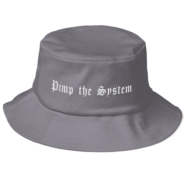 Pimp the System Bucket Hat