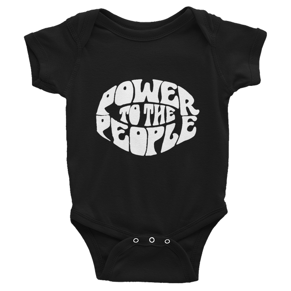 Power to the People Infant Onesie