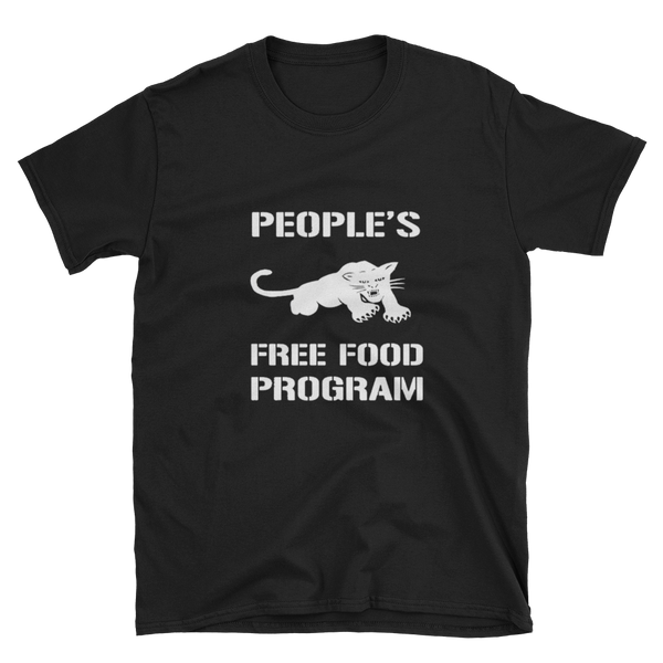Black Panther Free Food Program Shirt