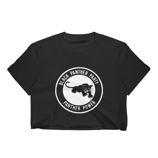 Black Panther Party Crop Top