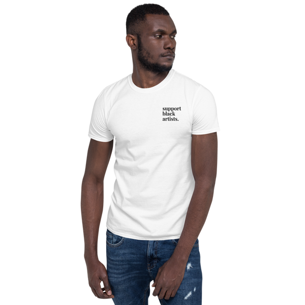 Support Black Artists Embroidered Shirt