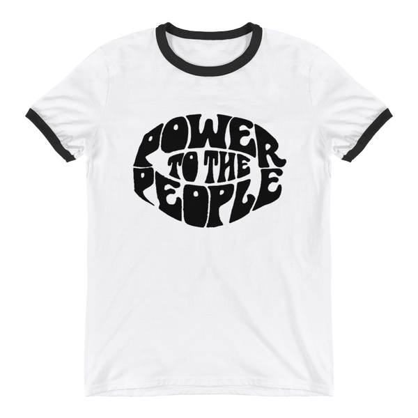 Power to the People Ringer T-Shirt