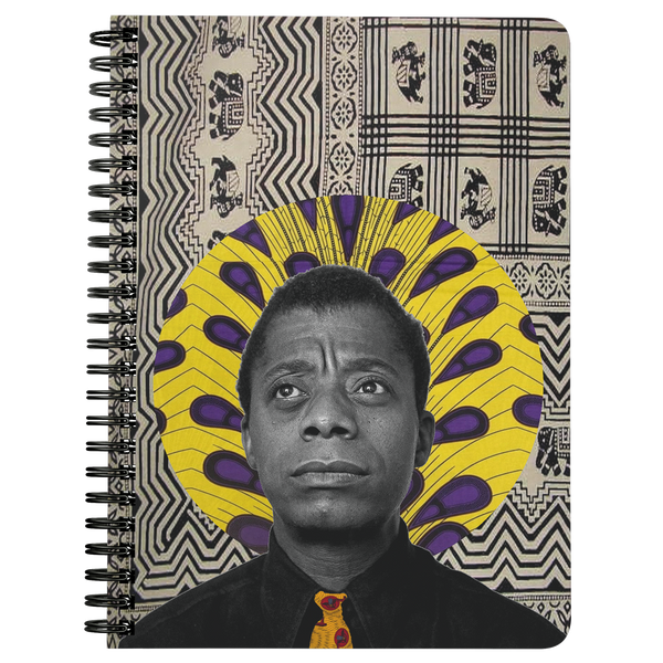 James Baldwin Spiral Notebook