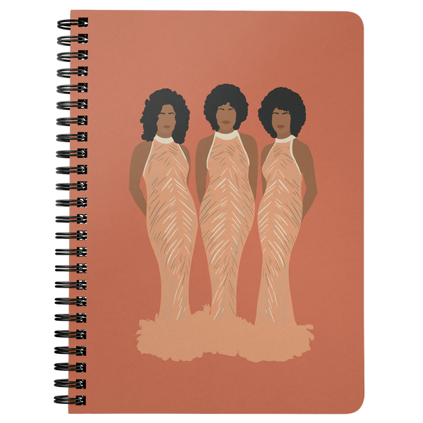 The Supremes Spiral Notebook