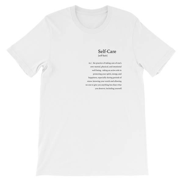 Self-Care Definition T-Shirt