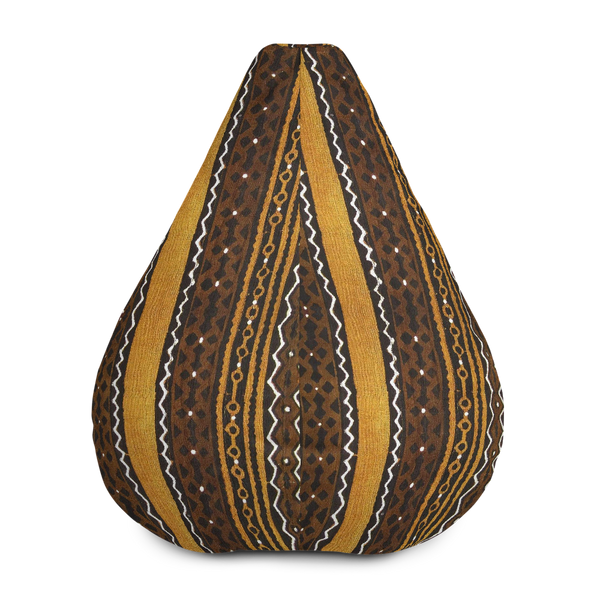 Mudcloth Print Bean Bag Chair