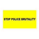 Stop Police Brutality Sticker