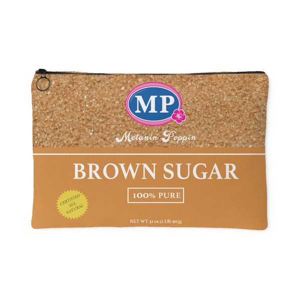 Brown Sugar Canvas Pouch