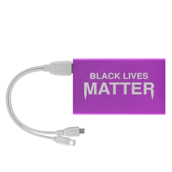 Black Lives Matter Portable Charger
