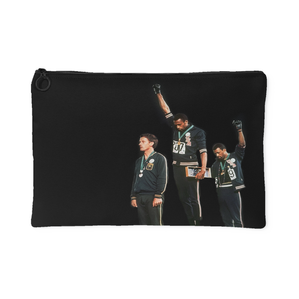Black Power Olympics Canvas Pouch