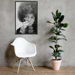 Angela Davis Smoking Poster