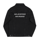 No Justice No Peace Denim jacket