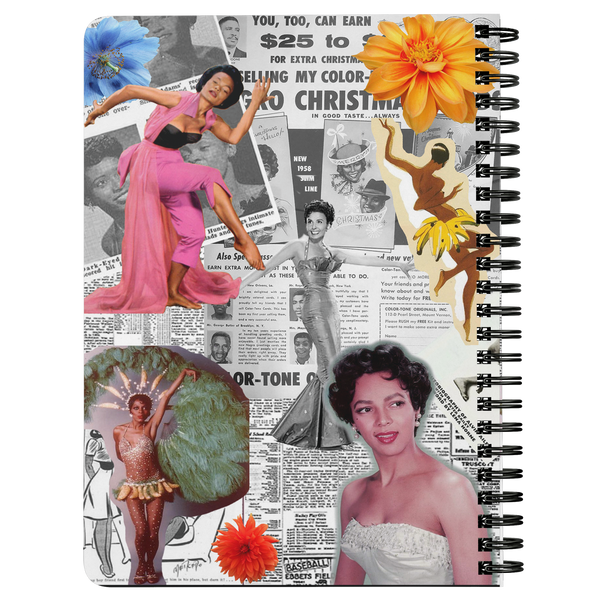 Black Women Dance! Spiral Notebook