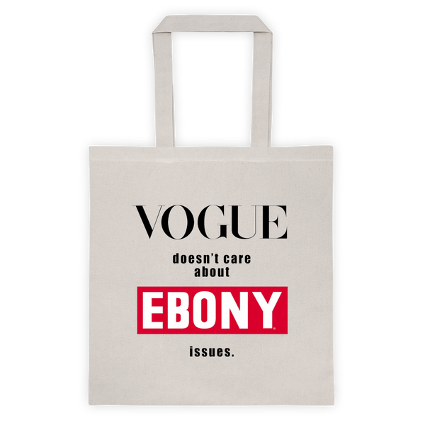 Ebony vs. Vogue Reusable Tote